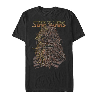 Star Wars Han Solo Story Chewie Hand Drawn Tshirt
