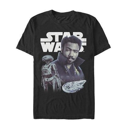 Star Wars Han Solo Story Lanado Tshirt