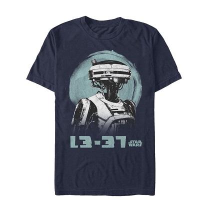Star Wars Han Solo Story L3-37 Tshirt