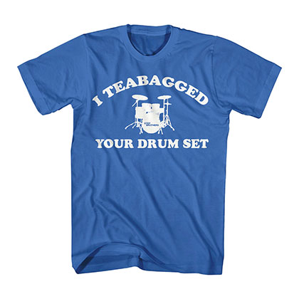 Step Brothers Cooper Teabag Blue T-Shirt