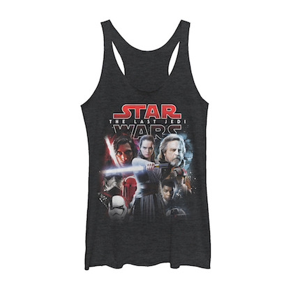 Star Wars The Last Jedi Movie Poster Womens Tank Top