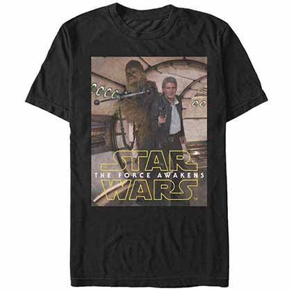 Star Wars - Episode 7 Homies Black T-Shirt