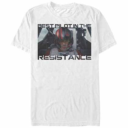 Star Wars - Episode 7 Best Text White T-Shirt