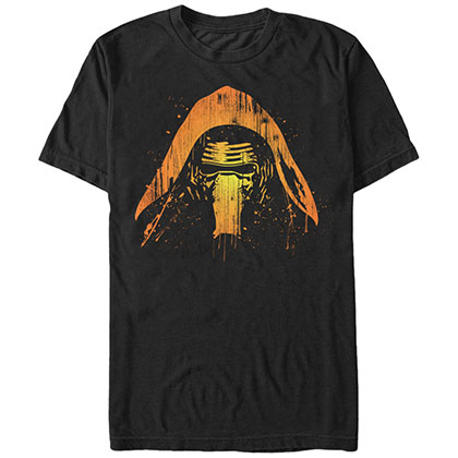 Star Wars Kylo Lantern Black T-Shirt