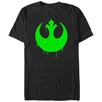 Star Wars Oozing Rebel Black T-Shirt