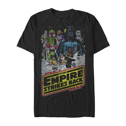 Star Wars The Empire Strikes Back Vintage Poster Tshirt