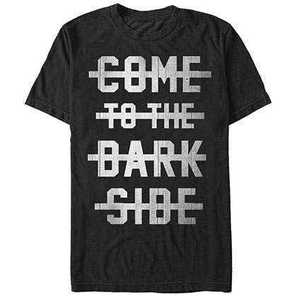 Star Wars Go Dark T-Shirt