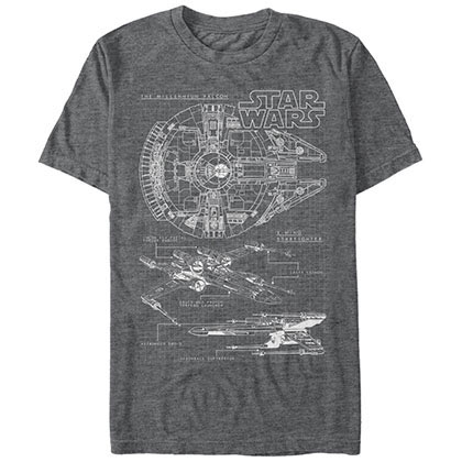 Star Wars Scheme T-Shirt
