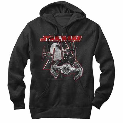Star Wars Large Force Black Sweatshirt