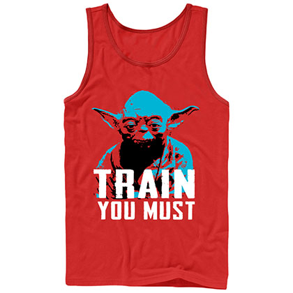 Star Wars Lift You Must Red Tank Top
