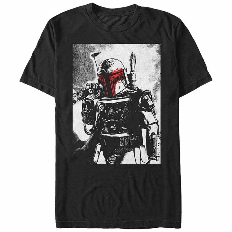 Star Wars Boba Fett Black T-Shirt