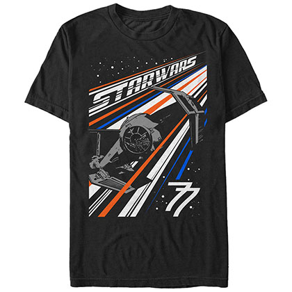 Star Wars Strike Fighter Black T-Shirt