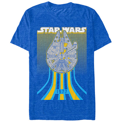 Star Wars Falcon Speed Blue T-Shirt