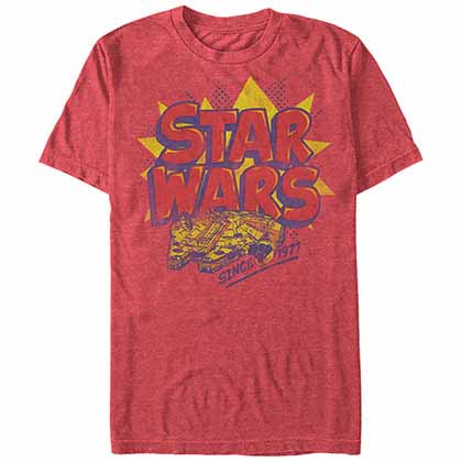 Star Wars Woosh Red  T-Shirt