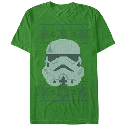 Star Wars Troop Intarsia Green T-Shirt
