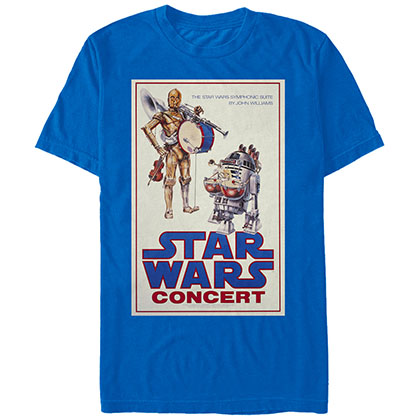 Star Wars R2 Beats Blue T-Shirt