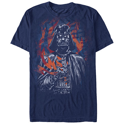 Star Wars Vader Force Blue T-Shirt