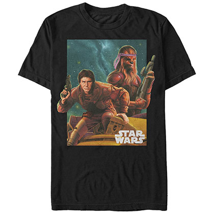 Star Wars Bandana And Han Black T-Shirt