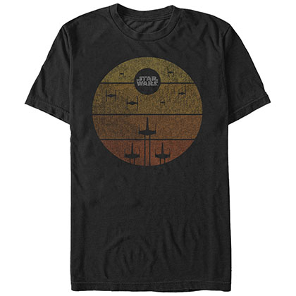Star Wars Lock On Target Black T-Shirt