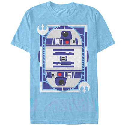 Star Wars R2-D2 Card Blue  T-Shirt
