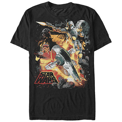 Star Wars Force Hunter Black T-Shirt