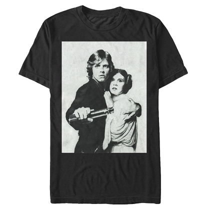 Star Wars Luke and Leia Tshirt