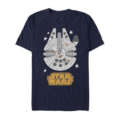 Star Wars Millennium Falcon Emoji Tshirt