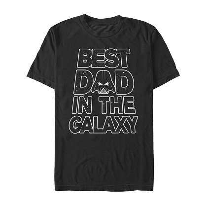 Star Wars Darth Vader Best Dad In The Galaxy Tshirt