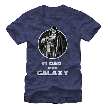 Star Wars #1 Dad Navy Tshirt