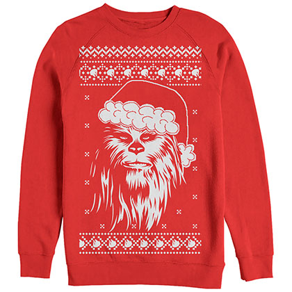 Star Wars Chewed Red Sweatshirt