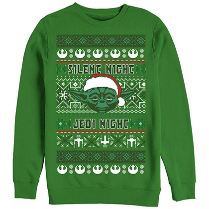 Star Wars Silent One Green Sweatshirt