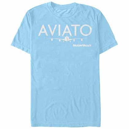 Silicon Valley Aviato Logo Blue T-Shirt