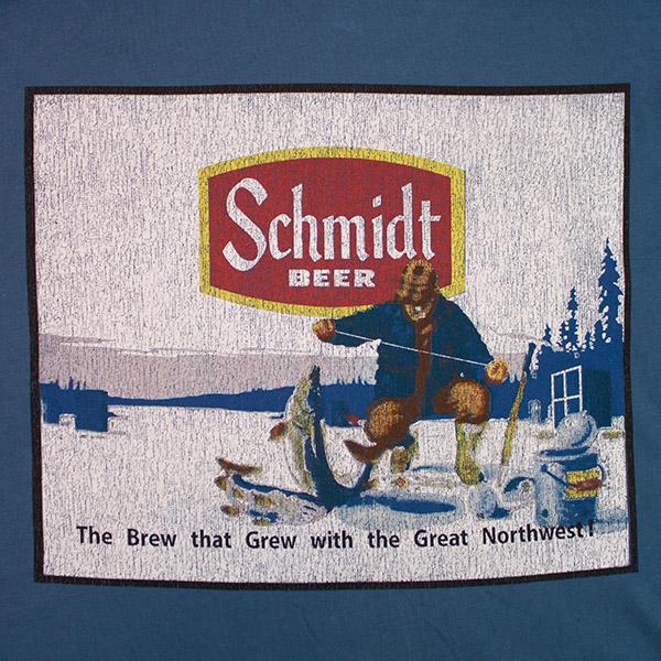 Retro Brand Schmidt Beer Logo Men S T Shirt Wearyourbeer Com