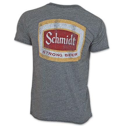 Schmidt Beer Vintage Men S Grey Shirt