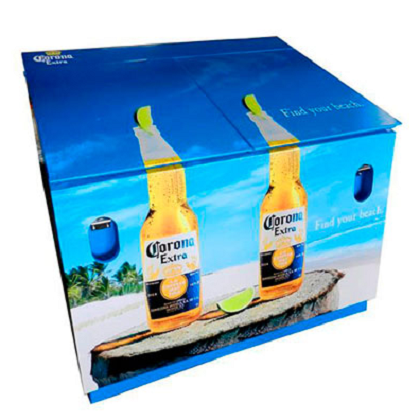 Corona Extra Find Your Beach 120 Bottle Metal Cooler