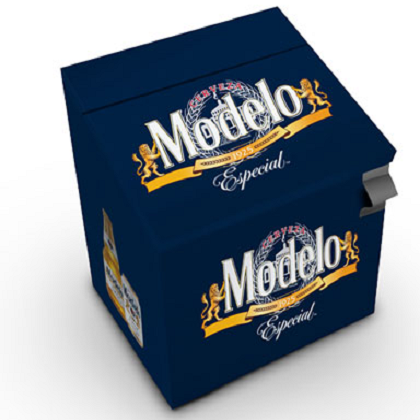 Modelo Especial 24 Bottle Metal Cooler