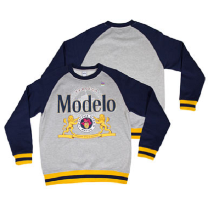 Modelo Terry Cotton Crewneck Sweatshirt