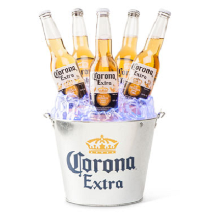 Corona Extra Light Up Beer Bucket