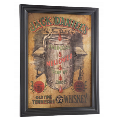 Jack Daniels Mellowed Pub Sign