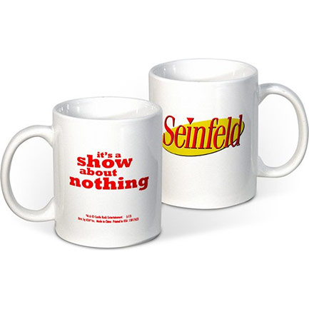 Seinfeld Show About Nothing Coffee Mug