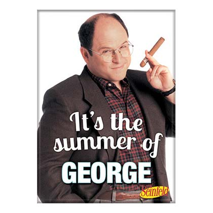 Seinfeld George Summer Magnet