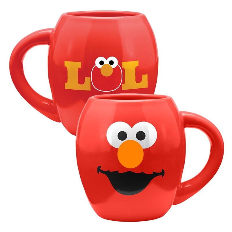Sesame Street Elmo 18oz Red Coffee Mug