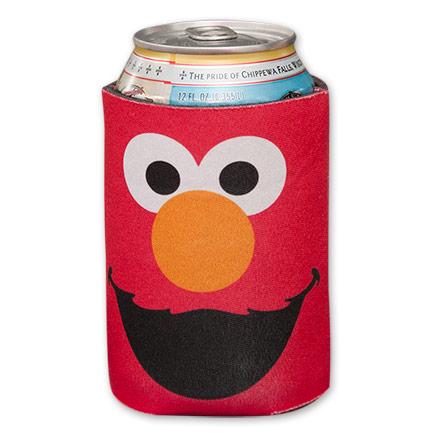 Red Sesame Street Elmo Koozie