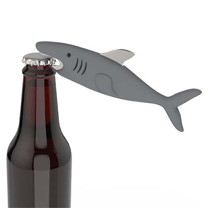 Shark Tanked Grey Bottle Opener