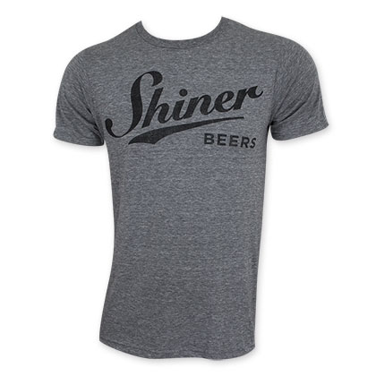 Shiner Beers Black And Gray T-Shirt