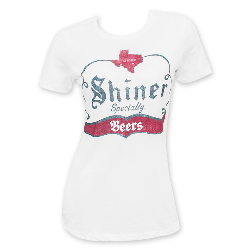 Shiner Specialty Beer Logo Gray Tee Shirt