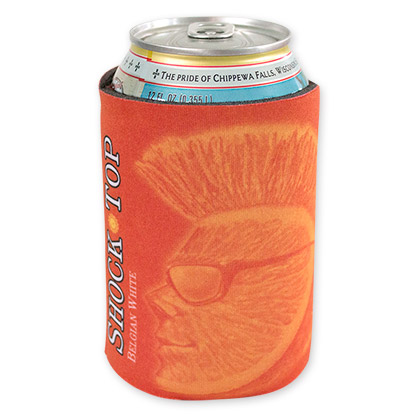 Shock Top Orange Beer Logo Koozie