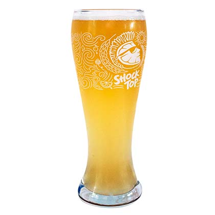 Shock Top Pilsner Glass