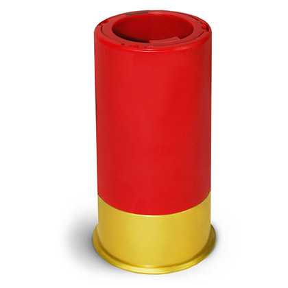Pop Off Red And Yellow Shotgun Shell Bottle Opener