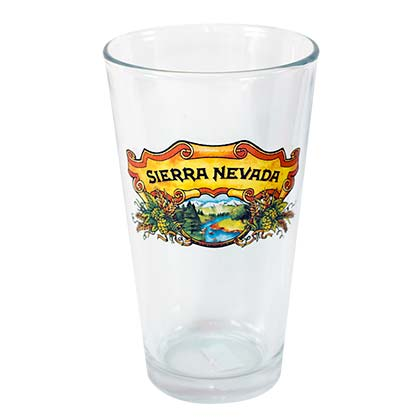 Sierra Nevada Traditional 16oz Beer Pint Glass